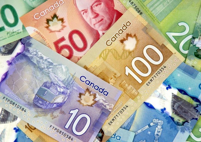 Various canadian bills